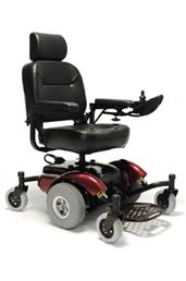 Intrepid Mid Wheel Drive Power Wheelchair DRIINTREPIDBL18CS-