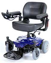 Cobalt Travel Power Wheelchair DRICOBALTBL16FS-