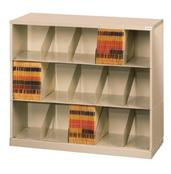 ThinStak™ Letter-Size Open Shelf Filing System - 3 Tiers DATSO24LT-3+DATSO24BT-2LT