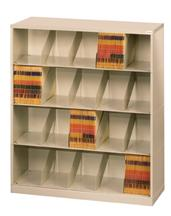 ThinStak™ Letter-Size Open Shelf Filing System - 4 Tiers DATSO24LT-4+DATSO24BT-2LT