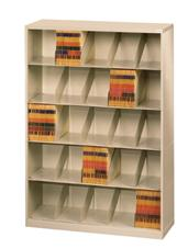 ThinStak™ Letter-Size Open Shelf Filing System - 5 Tiers DATSO24LT-5+DATSO24BT-2LT