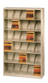 ThinStak™ Letter-Size Open Shelf Filing System - 6 Tiers DATSO24LT-6+DATSO24BT-2LT