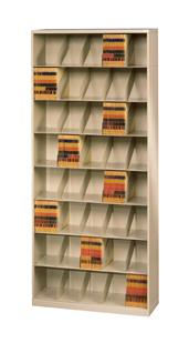 ThinStak™ Letter-Size Open Shelf Filing System - 8 Tiers DATSO2LT8