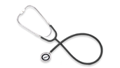 Disposable Single Head Nurse Stethoscope OMR411BLK-