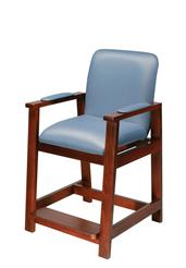 Deluxe Hip-High Chair, Wood Frame DRI17100