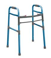 Universal Two Button Folding Walker DRI10248NBL-1-