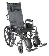 Silver Sport Full Reclining Wheelchair DRISSP16RBDDA-