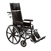 Viper Plus Light Weight Reclining Wheelchair DRIPL412RBDDA-