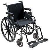 Cruiser III Light Weight Wheelchair DRIK316DDA-SF-