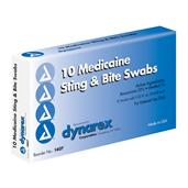 Medicaine Insect Bite (Swabs) 6 cc - 10/Box DYN1407