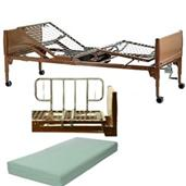Manual Home Care Bed Package INVBED12-1633