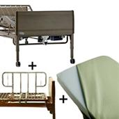 Full Electric Home Care Bed Package INVBED9-1633