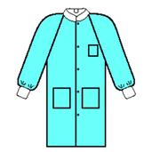 Basic PLUS Lab Coat, Blue KIM10032-