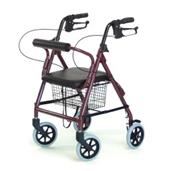 Walkabout Junior Four-Wheel Rollator GRAJ4301R
