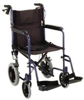 "Transport Chair with 12"" Rear Wheels NOV330-"