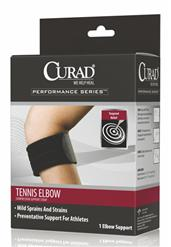 Standard Tennis Elbow Compression Support Straps CURORT17100DH-