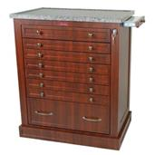 Wood Laminate 294 Unit Dose Medication Cart HARWL294BOX-