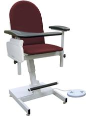 Designer Blood Draw Chair with Power Height Adjustment WIN2588
