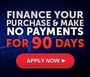 Finance - No Payment 90 Days