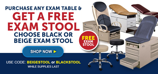 Exam Table Promotion