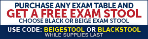 Exam Tables Promo